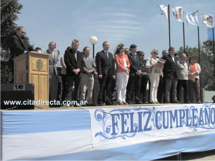 Se realizó el acto oficial por el 108º aniversario de Jovita