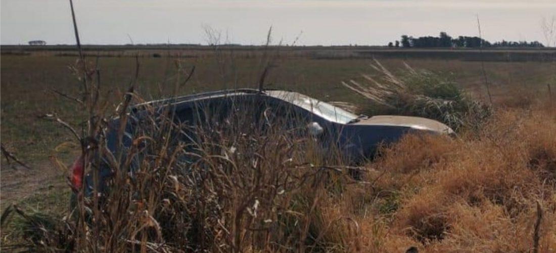 Vecino de Pincen sufrió un accidente cuando transitaba por Ruta 10