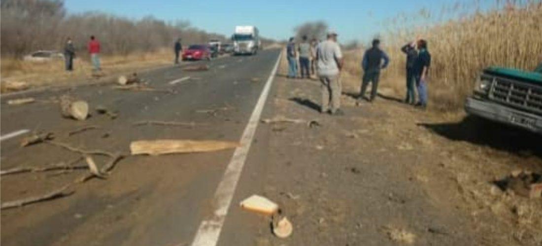 Del Campillo: hombre falleció tras violento choque entre dos vehículos en Ruta 35