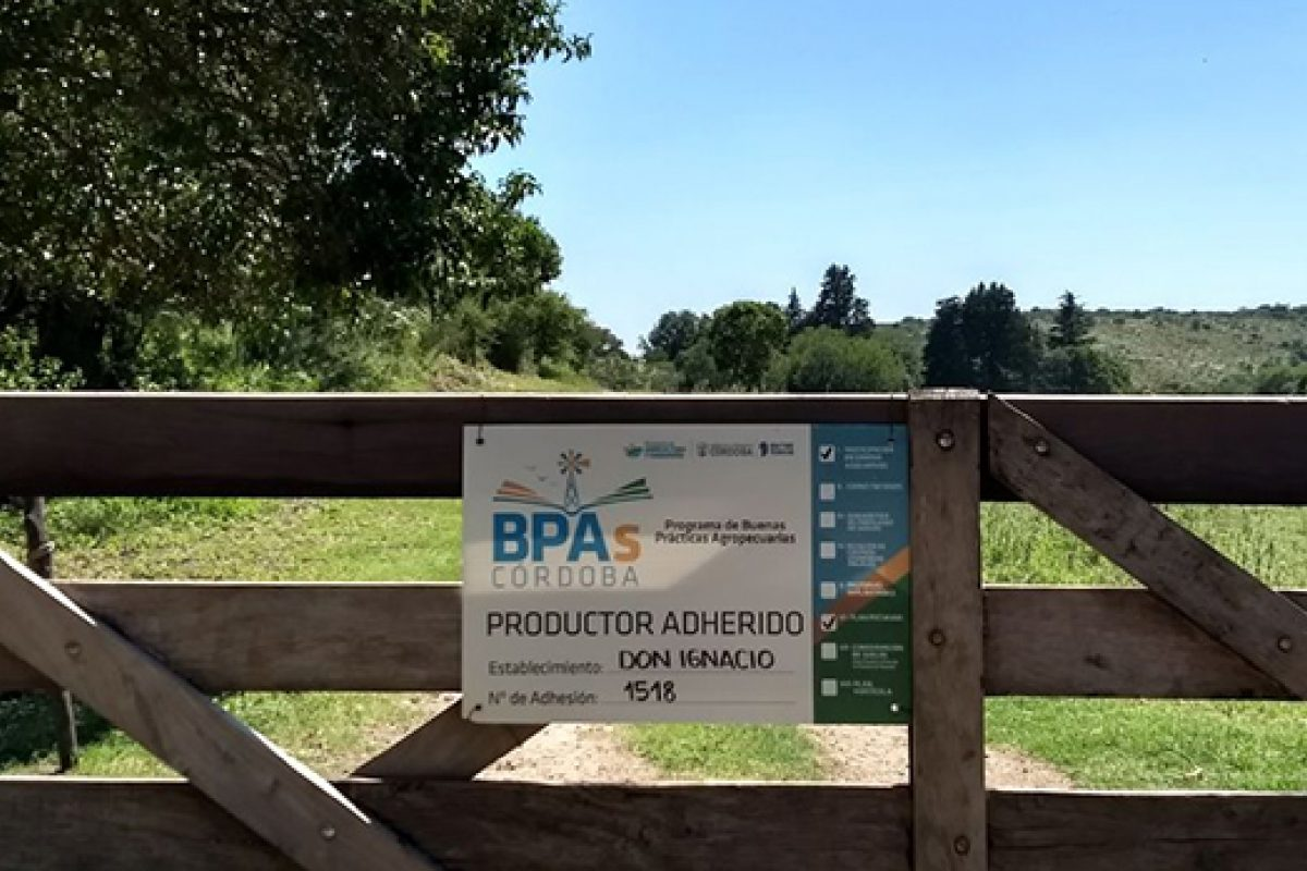 Programa BPAs 2020: productores tienen hasta el 30 de septiembre para sumarse
