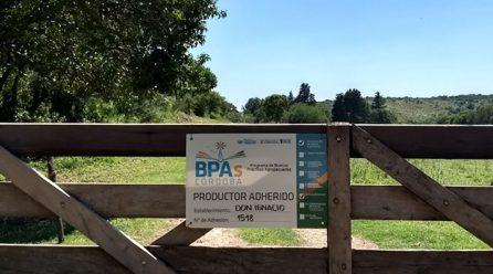 Programa provincial BPA`s 2021: más de 3.200 productores y 19.976 prácticas