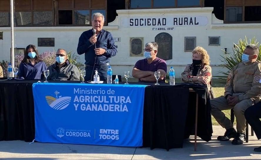 Laboulaye: Busso entregó aportes a productores por más de 7,2 millones de pesos