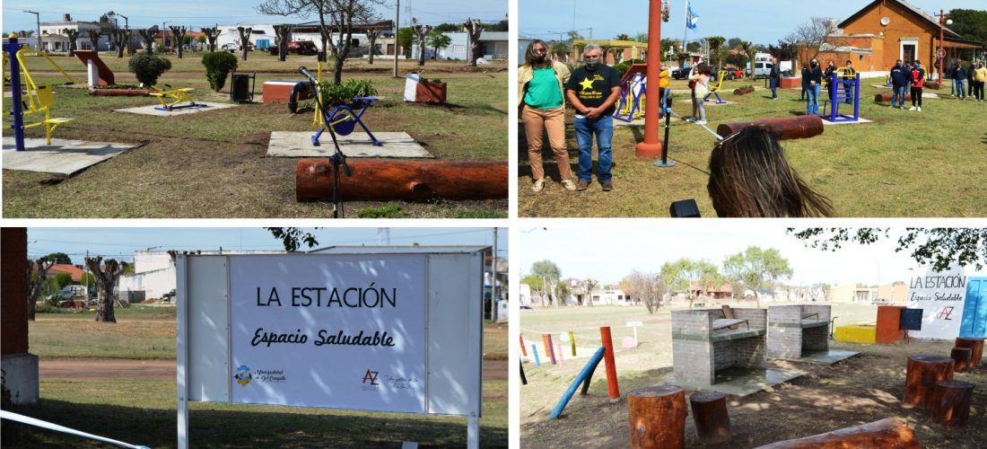 Una obra que integra: inauguran paseo saludable entre dos barrios en Del Campillo