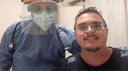Jovita: regresó el médico que fue derivado a Córdoba por cuadro complejo de Covid