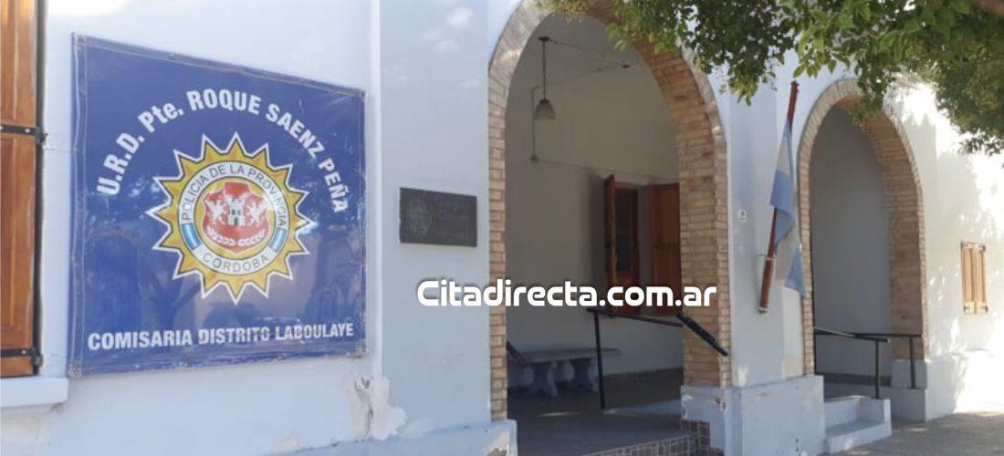 Transportista fue aprehendido tras insultar y agredir a la Policía en Laboulaye
