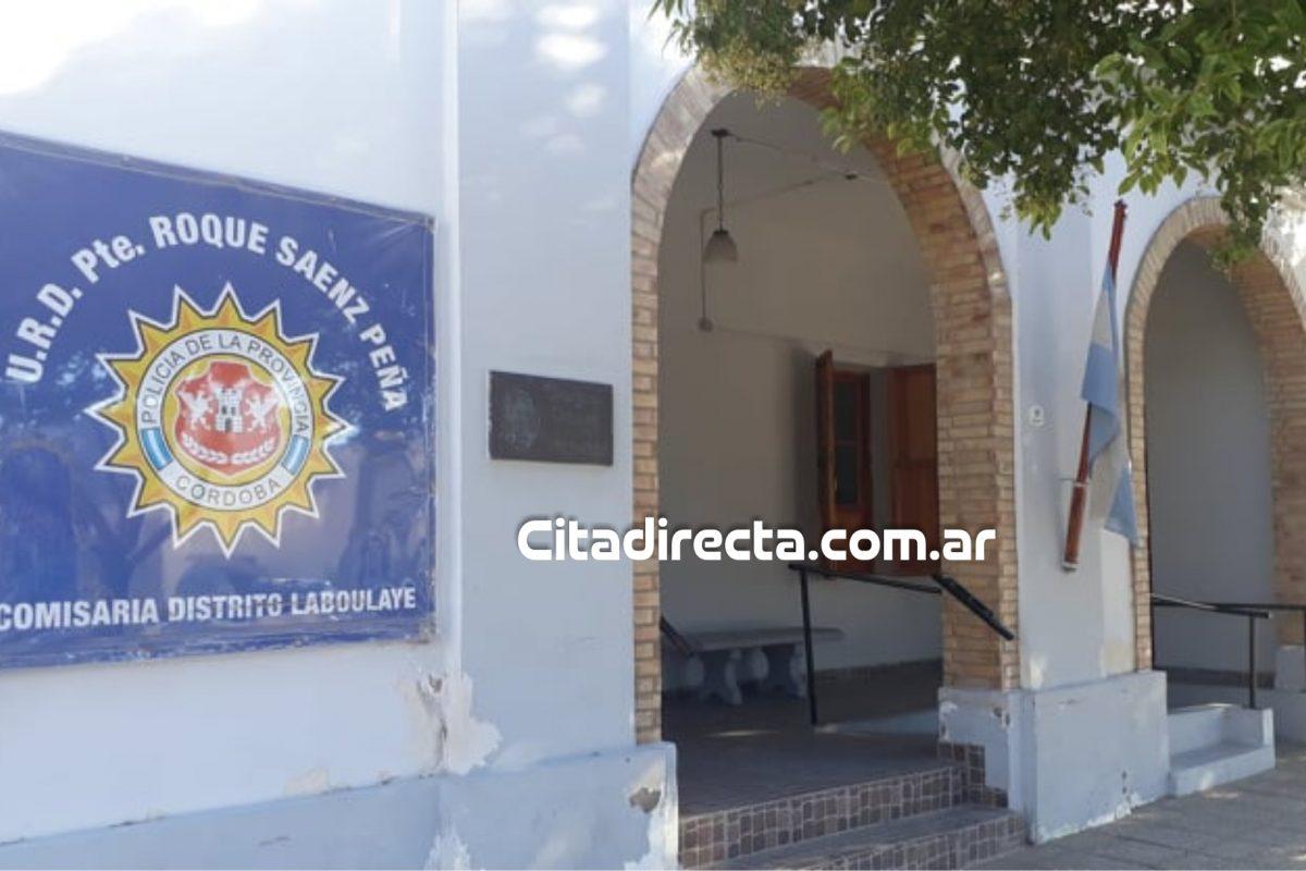 Laboulaye: en medio de una gresca arrojó una piedra al móvil policial: fue detenido