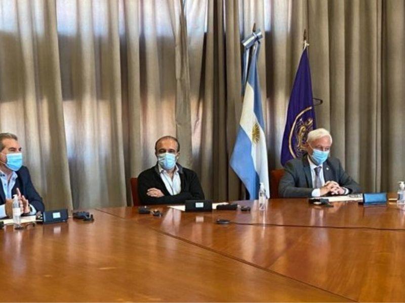 Convenio con UNC: presentan especialización en Gestión de Cuencas Hidrográficas
