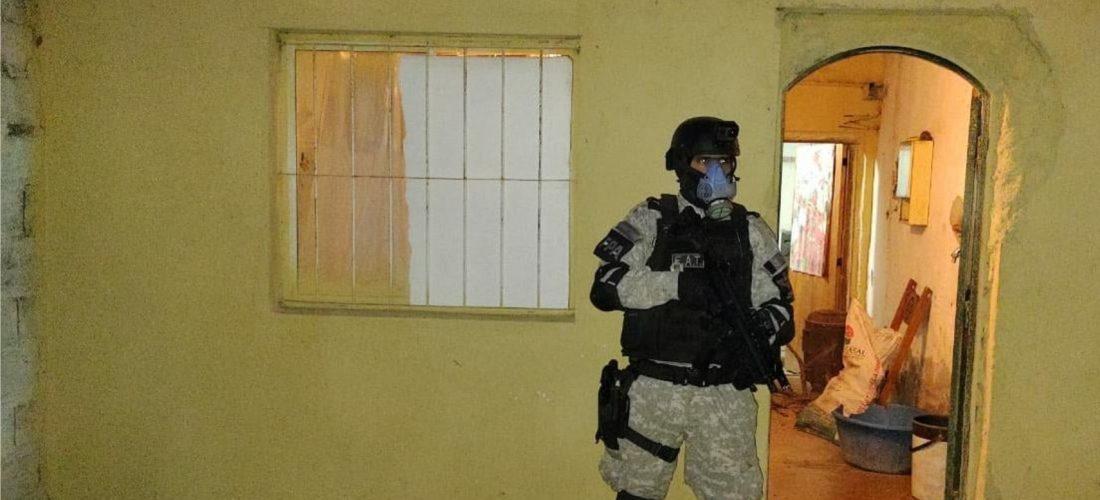 Laboulaye: administraban tres puntos de venta de drogas y los detuvo la FPA
