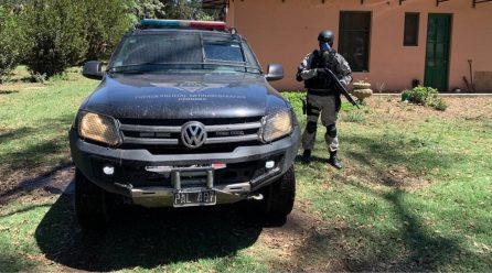 Secuestran drogas y armas en un predio rural de Laboulaye; dos jóvenes detenidos