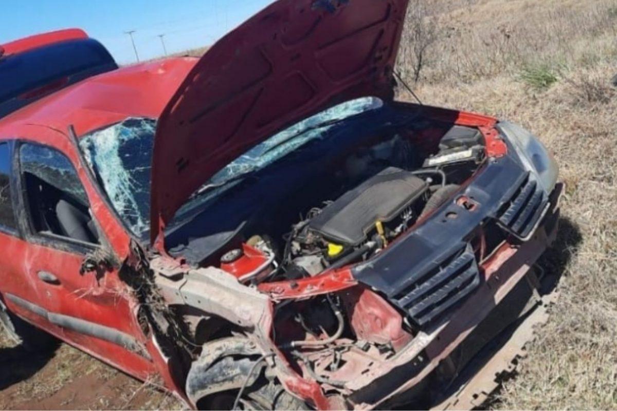 Vecina de Jovita protagonizó un accidente en cercanías de Del Campillo