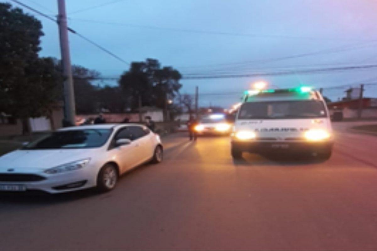 Laboulaye: mujer de 70 años fue hospitalizada tras accidente en la vía pública