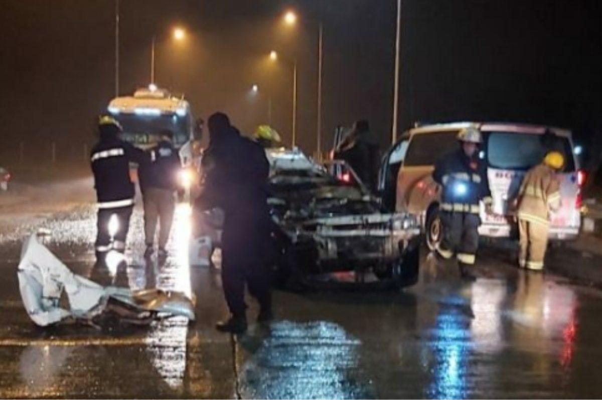 Siniestro vial cerca de Mackenna: colisionaron un auto y un camión