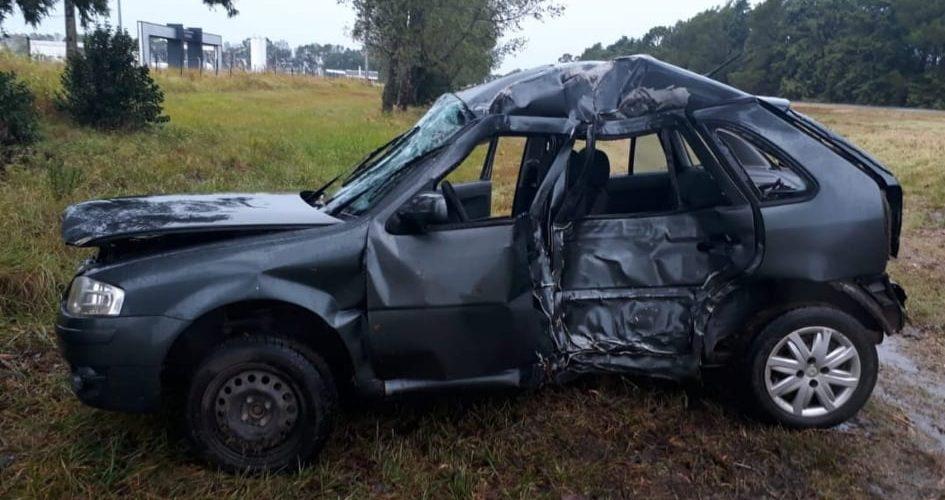 Accidente en Ruta 27: joven de Serrano murió al despistar e impactar contra un árbol