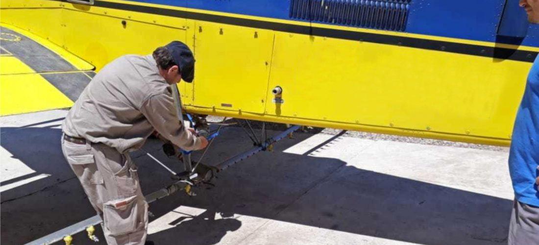 Agroquímicos: clausuran equipo de pulverización aéreo en el sudeste cordobés