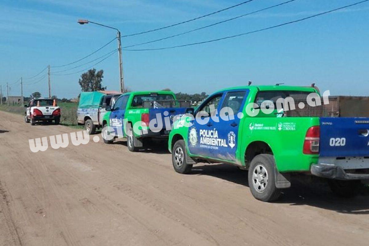 Serrano: allanaron dos propiedades por fauna nativa en cautiverio