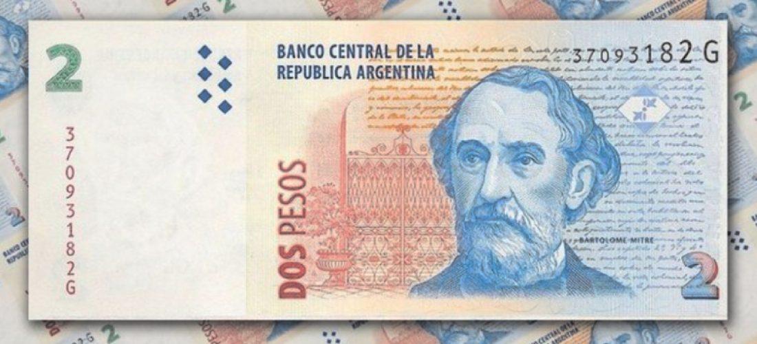 Adiós al billete de 2 pesos: hasta el 27 de abril se podrán canjear por monedas