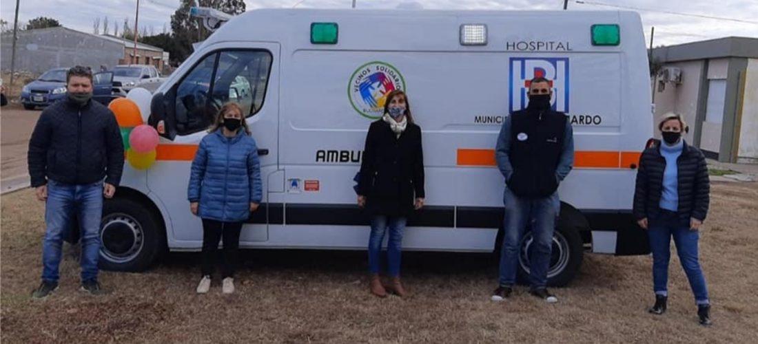 El hospital municipal de Buchardo cuenta con una nueva ambulancia cero kilómetro