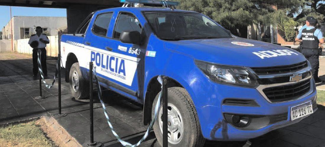 Buchardo: presentan nuevo móvil para patrullar la zona rural