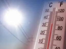 Alertan por una ola de calor en todo el país hasta el martes (Lluvias para el domingo)