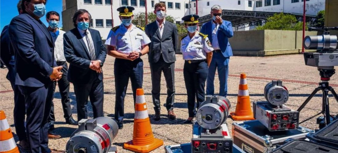 Policía Caminera incorporó nuevos equipos para control de velocidades
