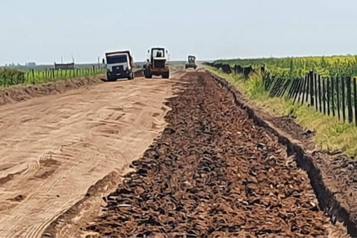 Caminos rurales: avanza importante proyecto en la zona de Serrano