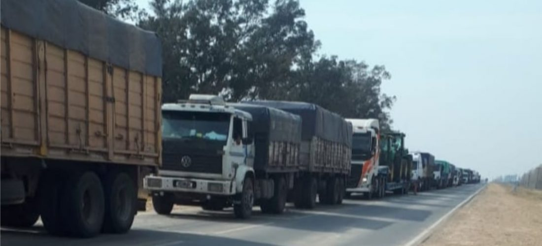 Transportista de La Cesira dio positivo a un test rápido en control cerca de Buchardo