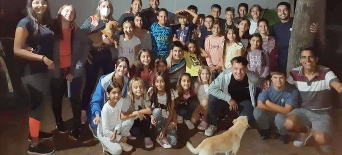 Del Campillo: exitoso cierre de la colonia de verano, con campamento y fogón