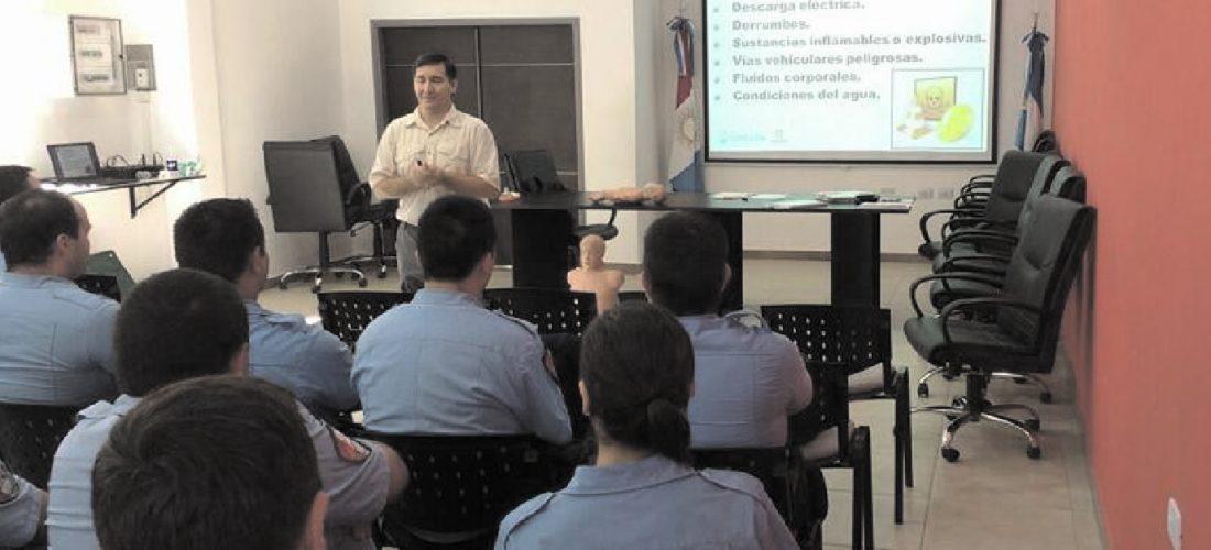 Laboulaye: se realizó importante capacitación para policías y docentes
