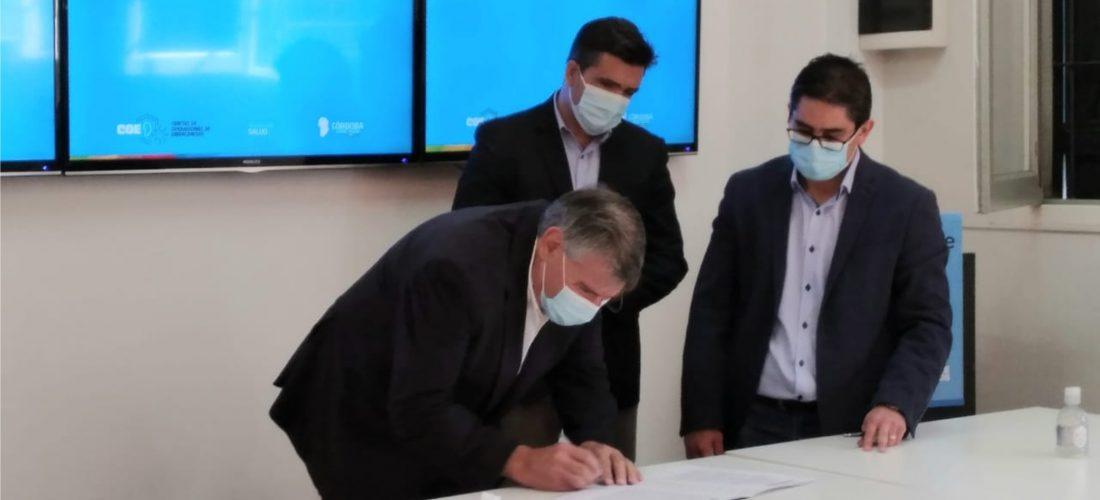 Hospital de Serrano incorpora equipo de centralización de oxígeno medicinal
