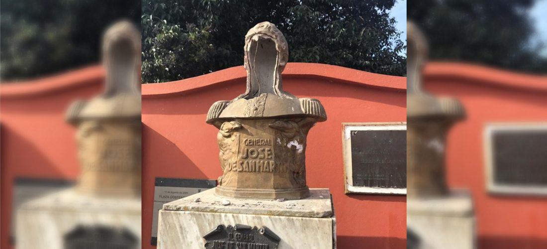 Serrano: hechos de vandalismo se registraron en plaza Enrique Oostendorp