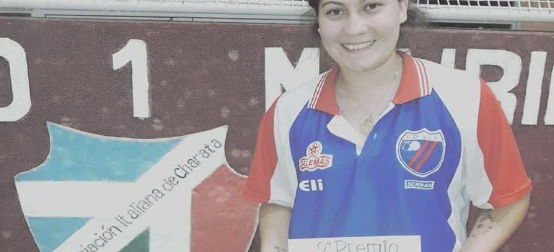Eliana Urizarbarrena, subcampeona del Nacional Femenino de Bochas