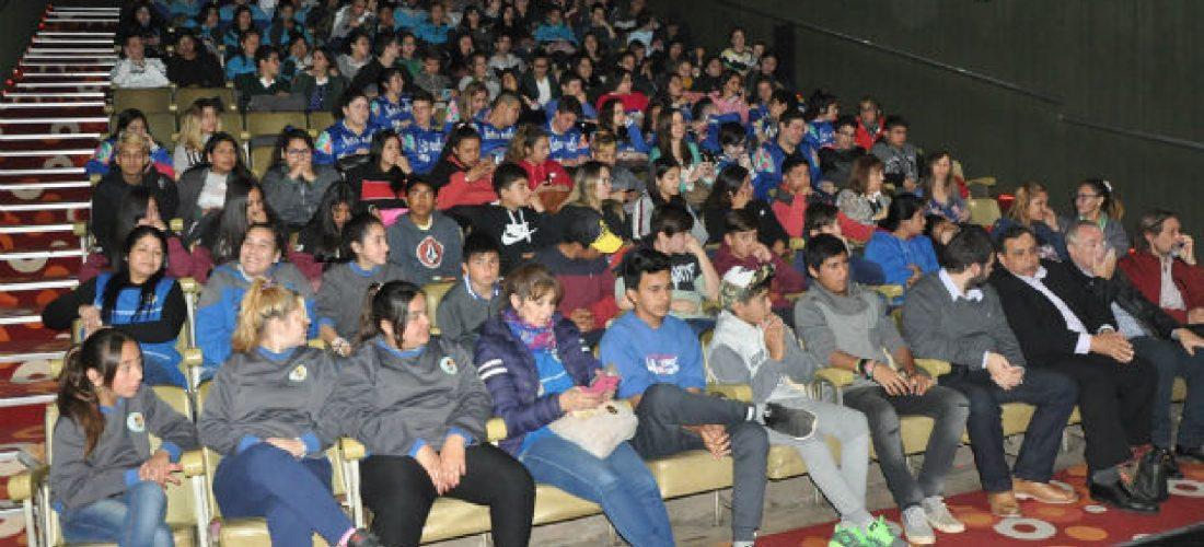 Escuelas del sur provincial en un encuentro de cine estudiantil