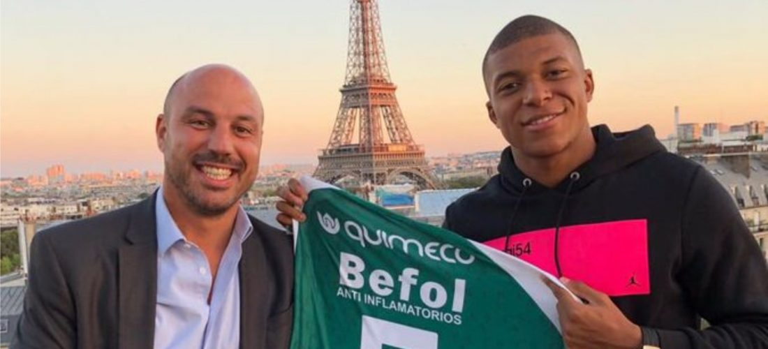 De jugar en Sporting de Laboulaye al Paris Saint Germain: la historia de Luis Ferrer