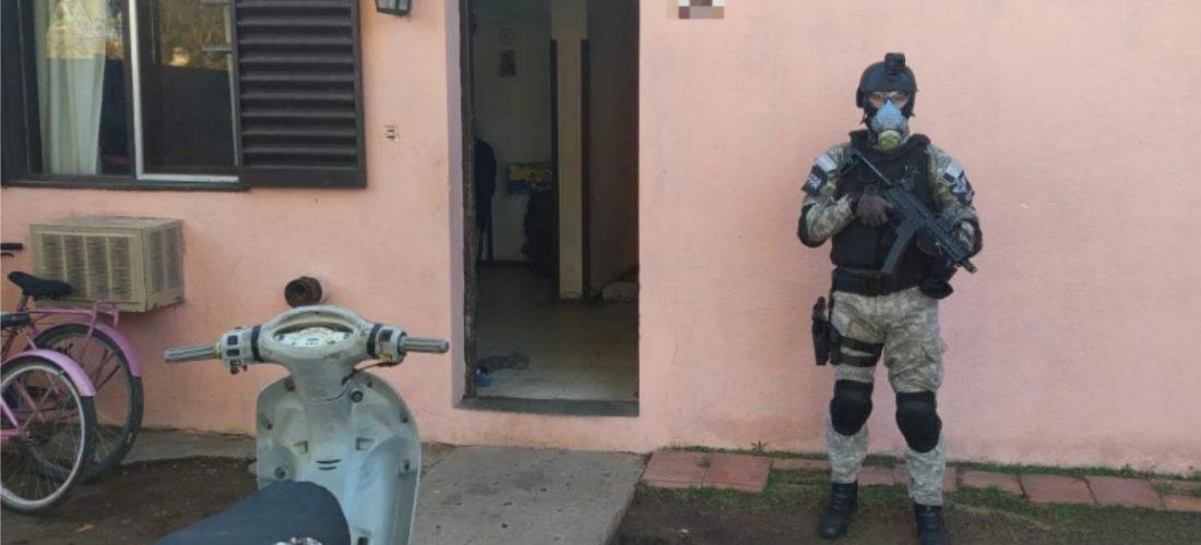 Desbaratan tres puntos de venta de droga en Laboulaye: hay varios detenidos