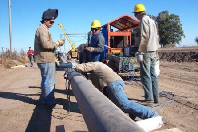 Intendentes de la región y funcionarios provinciales se reunieron por gasoducto de ruta 7