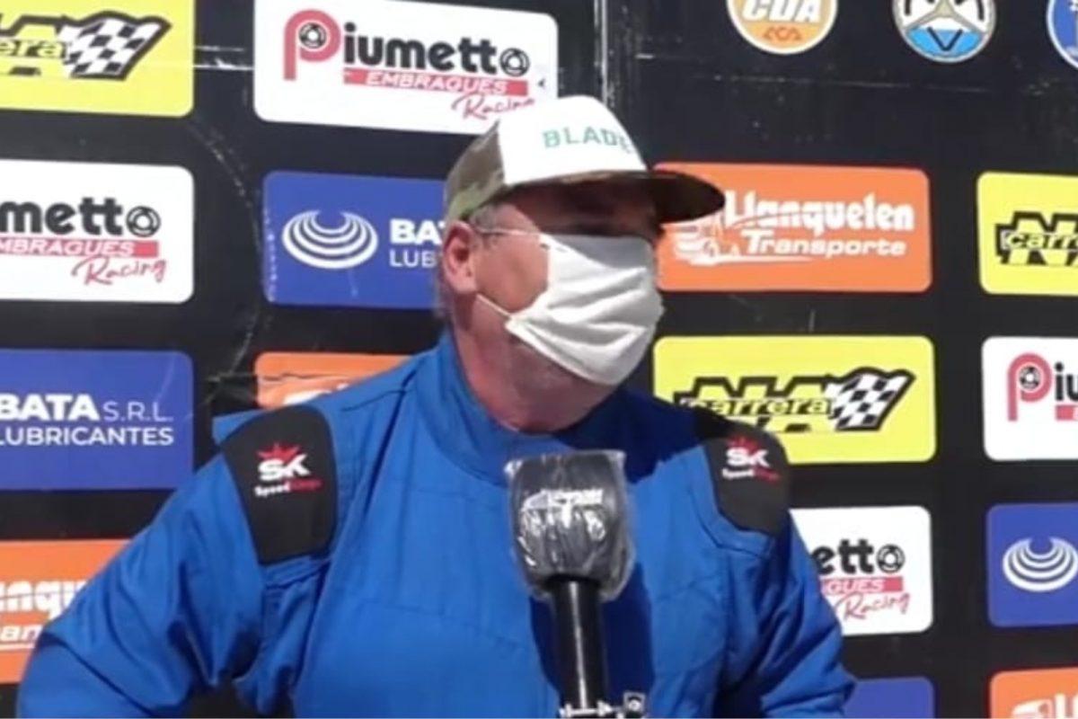 Guillermo Saby ganó en la vuelta del automovilismo provincial