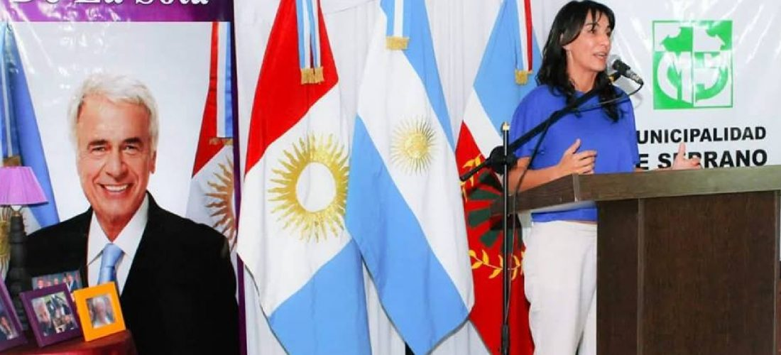Serrano: emotivo homenaje al ex gobernador De la Sota