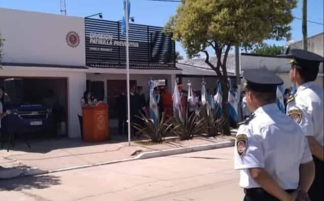 Huinca: se realizó el acto de inauguración de la Patrulla Preventiva