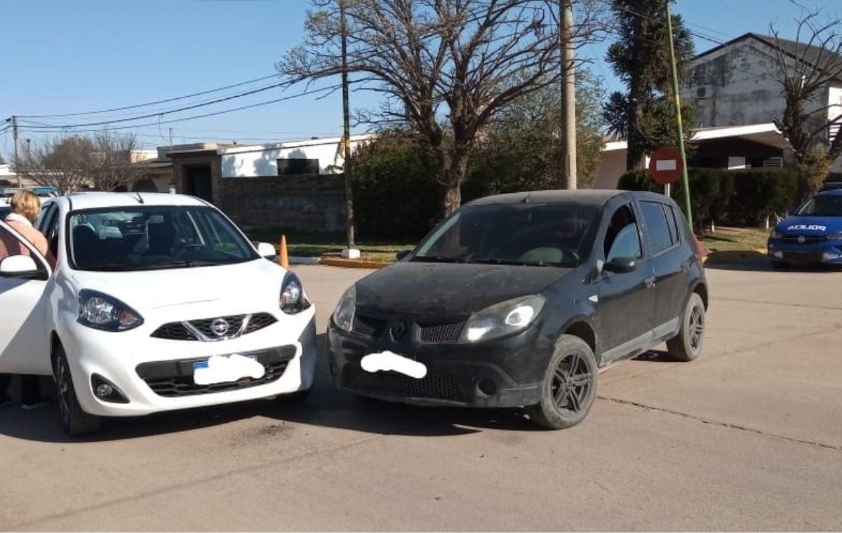 Dos vehículos protagonizaron un accidente de tránsito: solo daños materiales