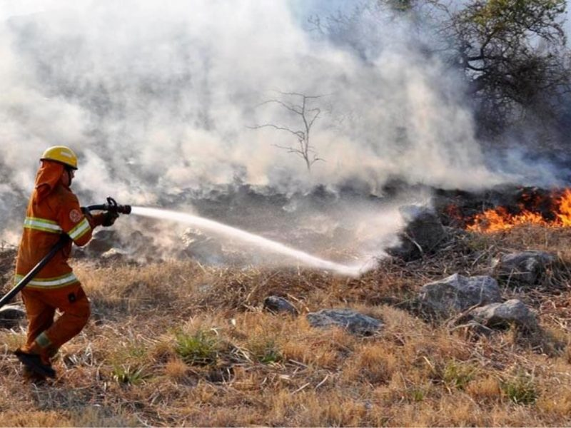 Alerta por riesgo extremo de incendios en la provincia, hasta el viernes