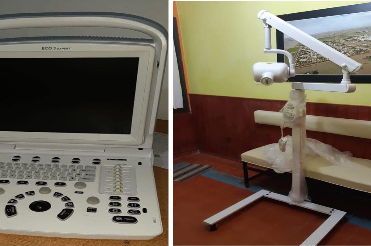 Equipamiento médico para hospitales de Del Campillo, Buchardo, Valeria y Mattaldi