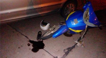 Jovita: un auto y una moto protagonizaron un accidente de tránsito