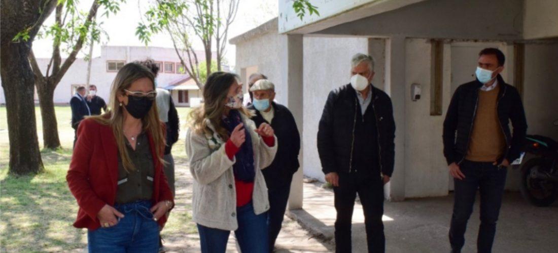 El ministro Julián López recorrió la Ciudad de los Niños en Río Cuarto