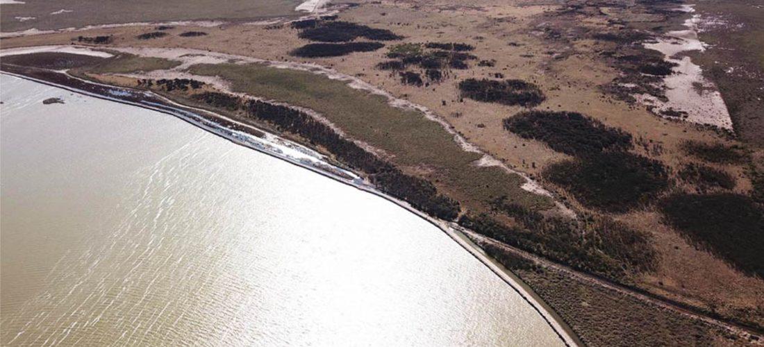 """La Provincia ejecutó importantes obras en la laguna """"La Chanchera"""", de Laboulaye"""