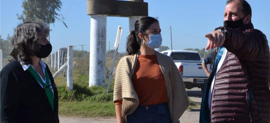 Laboulaye: avanza la obra de gasificación hacia el Parque Industrial