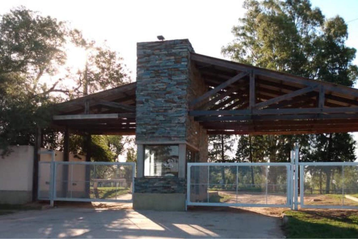 Levalle: roban en el predio del Lago San Agustín, tras violentar puerta de un quincho