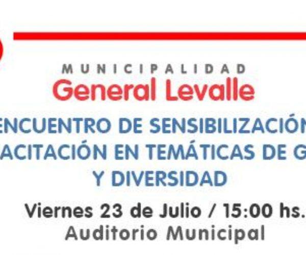 General Levalle: invitan a capacitación gratuita en género y diversidad