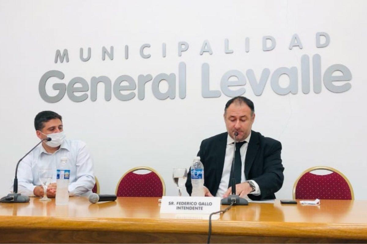 General Levalle: el intendente Gallo anunció baja del 50% del impuesto a patentes