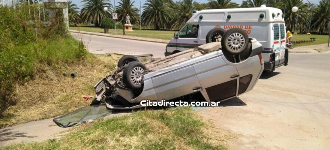 Joven de 21 años protagonizó un accidente de tránsito en General Levalle