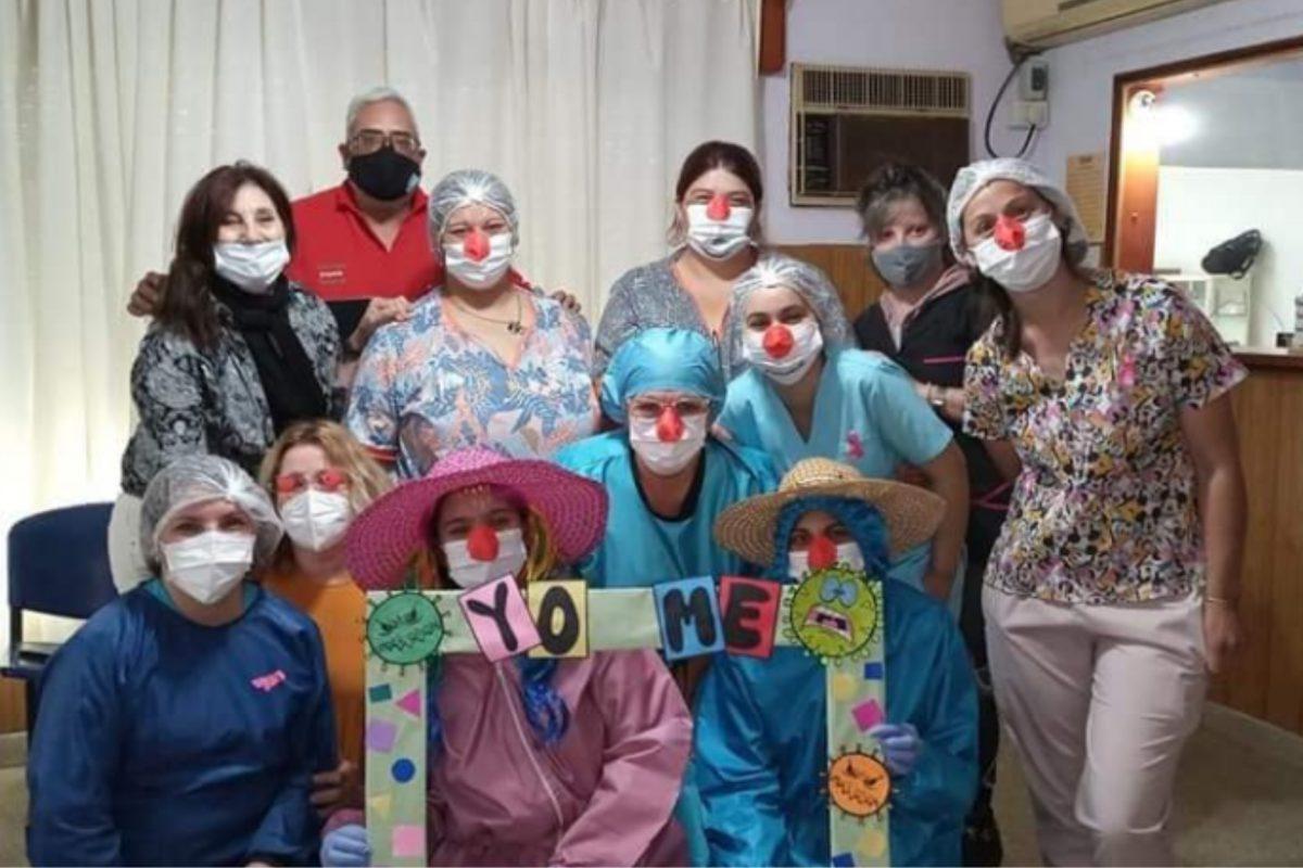 """En Mattaldi """"paya-enfermeras"""" vacunaron a 94 niños de 3 a 12 años"""